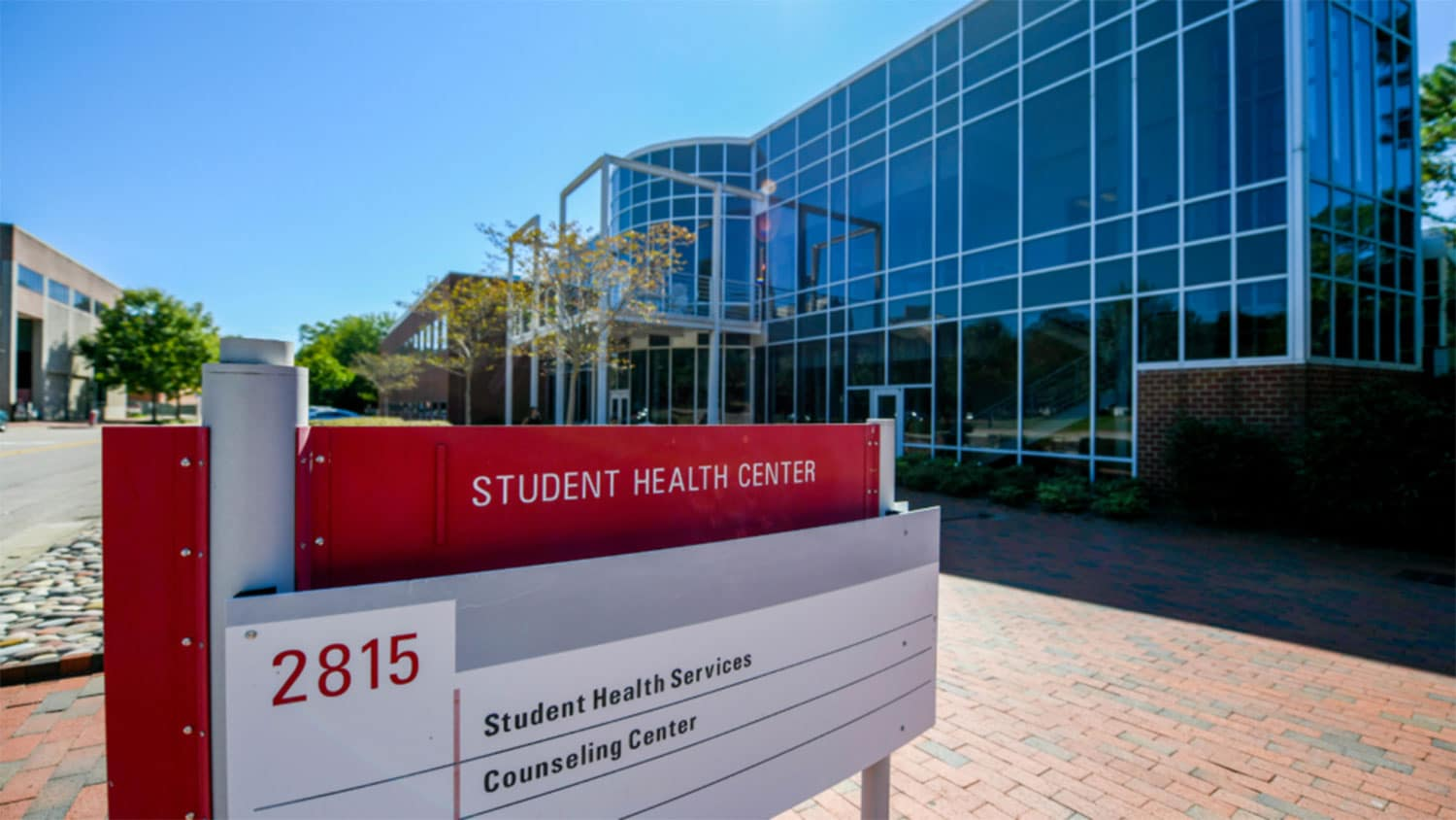 NC State Student Health Center building