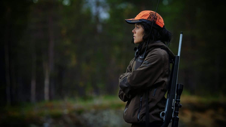 A female hunter.