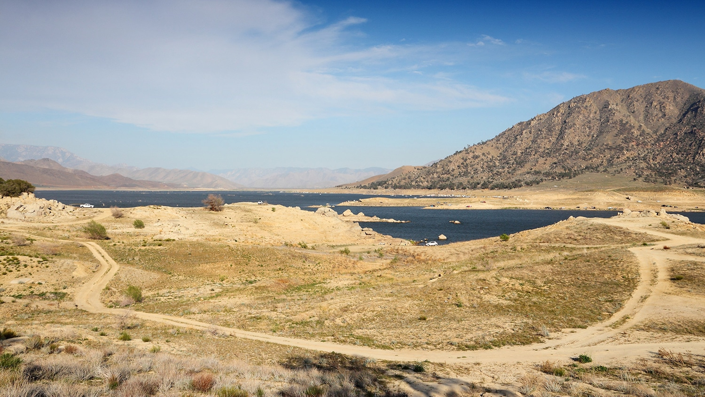 Lake Isabella in Kern County, California.