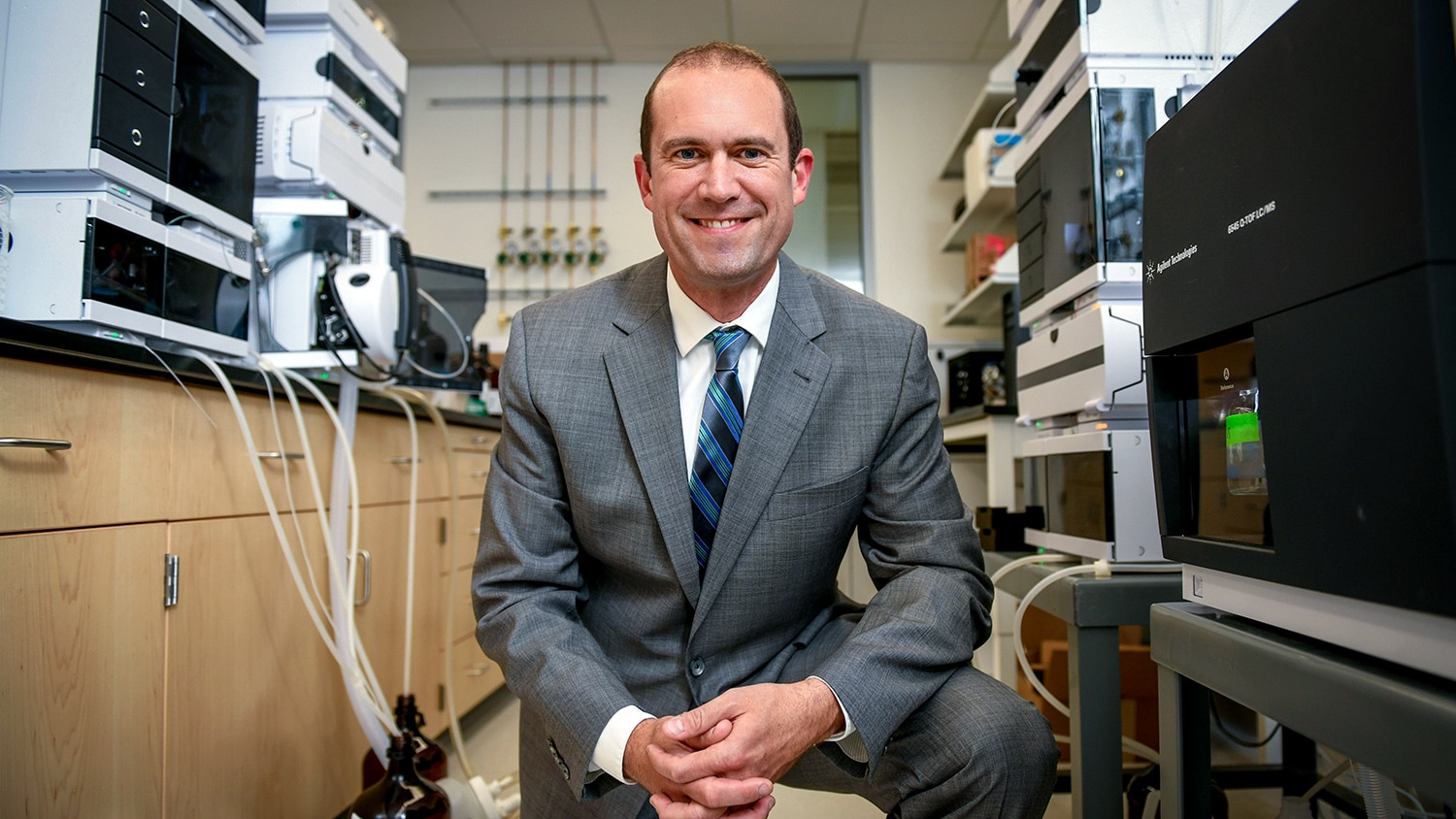 A portrait of Jacob Jones, Jacob Jones, director of the STEPS Center and professor of materials science and engineering at NC State