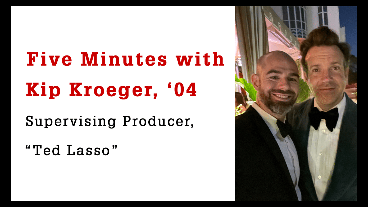 Five Minutes with Kip Kroeger, Supervising Producer on Ted Lasso